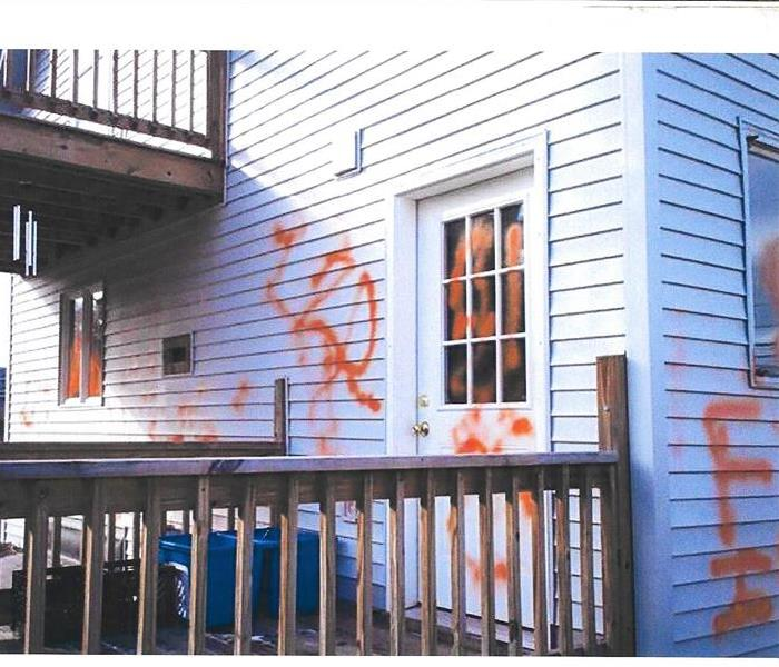 Vandalism - Gorham, New Hampshire Before