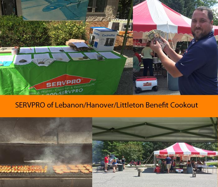 2016 SERVPRO Benefit Lunch Cook-out Was a Big Success.
