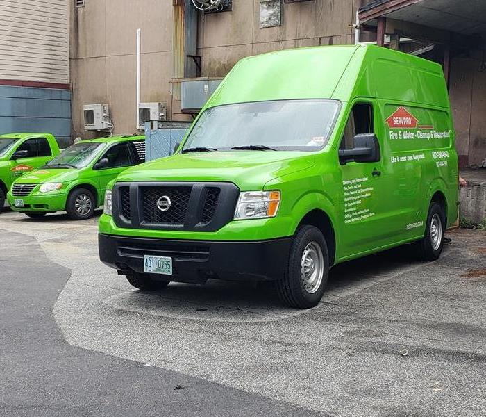 Why SERVPRO Faster To Any Size Disaster