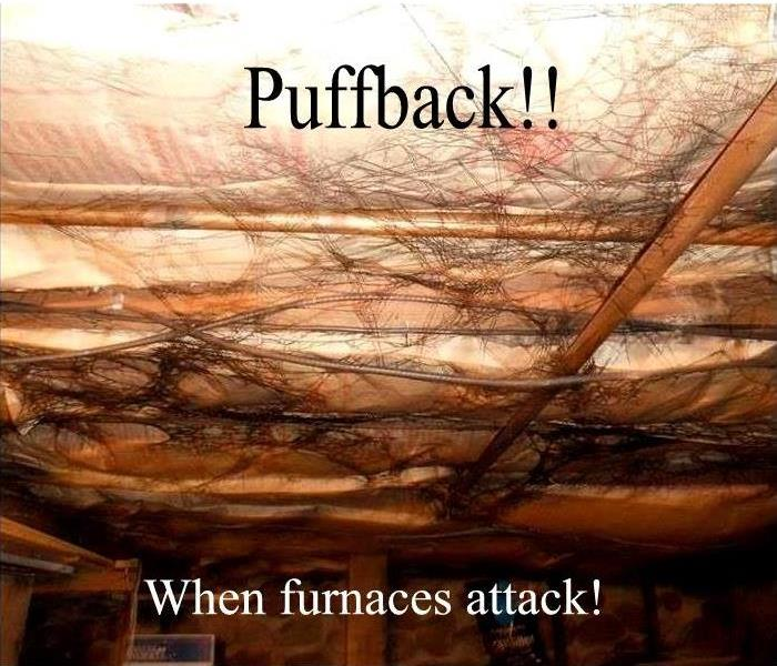 Fire Damage When Furnaces Fight Back.. Puff Back Happens!